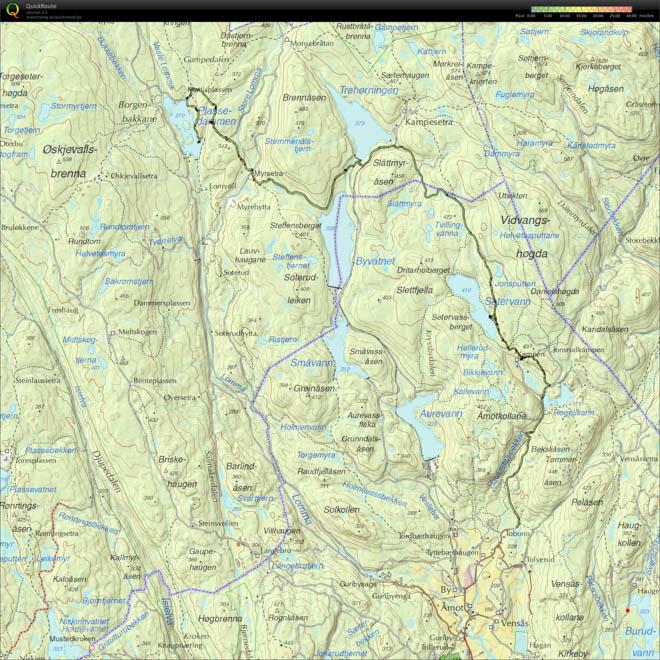 Nordmarka_20150502_Lommedalen_Setervann_Myrsetra_Plassedammen